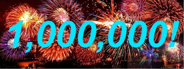 1000000 visitas