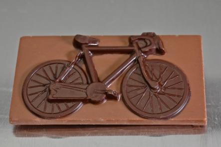 bici de chocolate